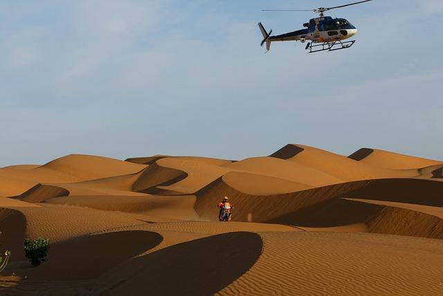 rallye dakar poušť