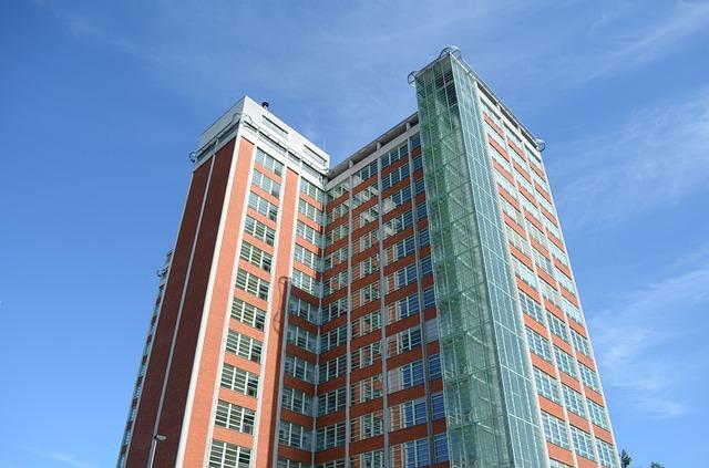mrakodrap ve Zlíně