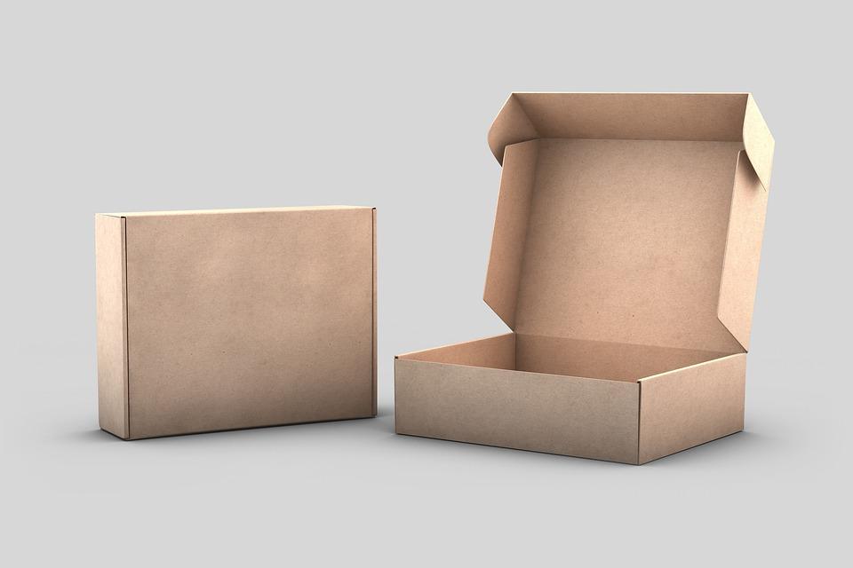 prázdné krabice